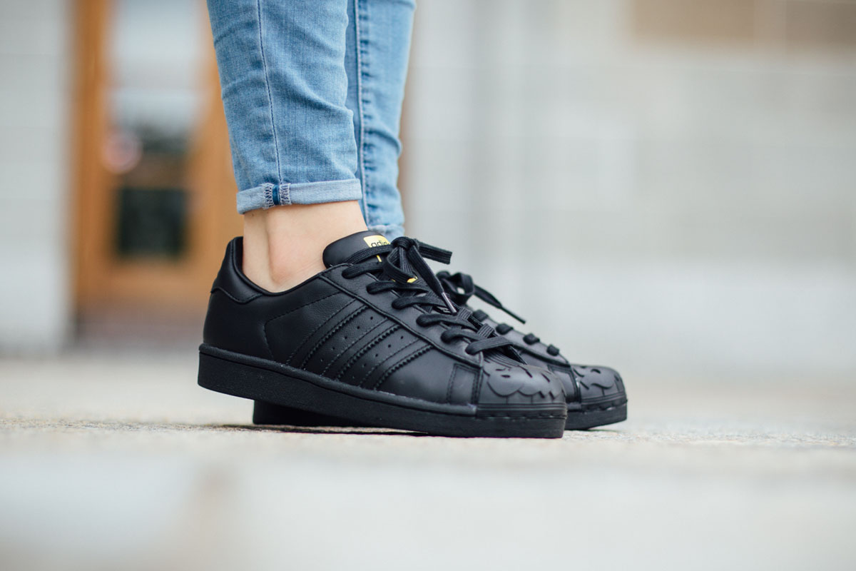 quality design 58c61 34a82 Pharrell Williams x Todd James x adidas Superstar Supershell Pack