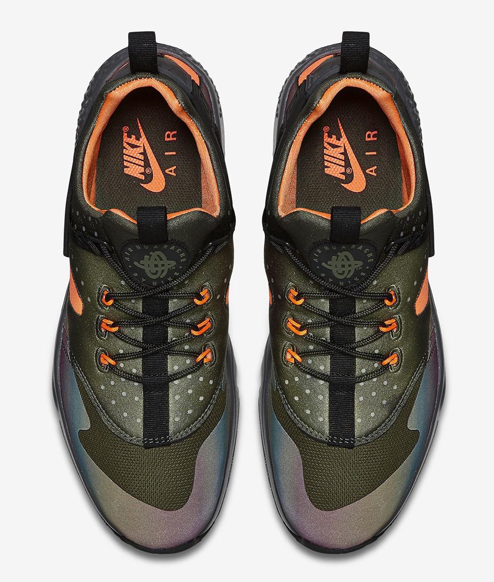 the best attitude 01085 7487c ... Carbon Green Black  Nike Air Huarache Utility Premium  Nike Air Huarache  - Black Total Orange - Anthracite ...