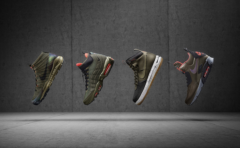 meet edb0a 42116 Nike Holiday 2015 Sneakerboot Collection