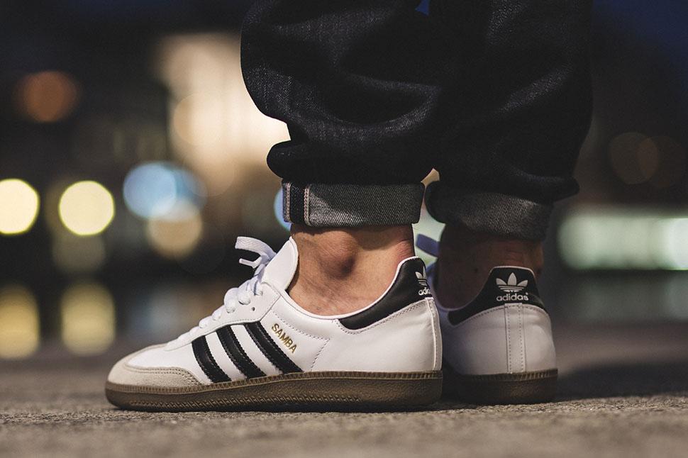 ... usa adidas originals samba white black gum 81e10 b45ae 1cf505946