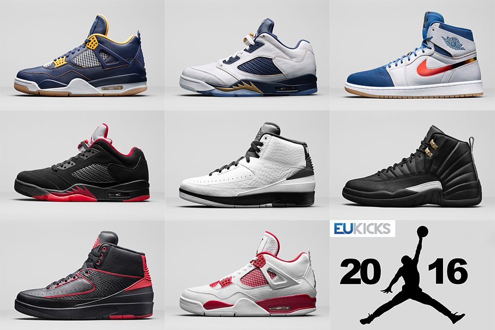 air jordan retro 2016 release dates