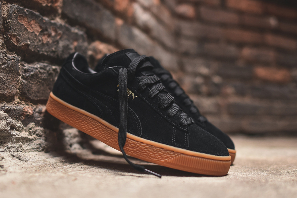 black and brown puma shoes