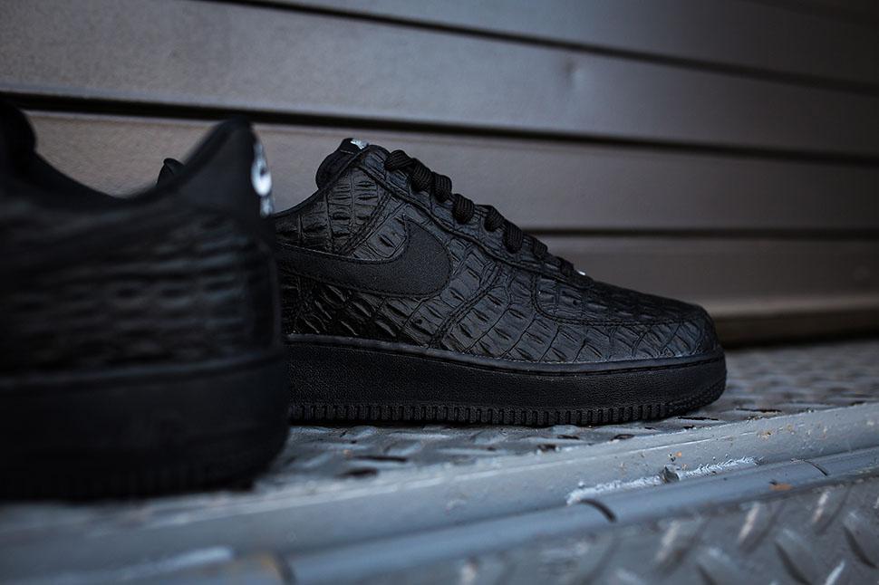 "reputable site 1e4b7 f08c8 ... Nike Air Force 1 07 LV8 ""Black Croc†..."