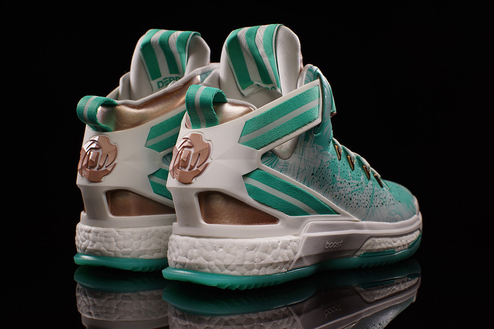 hot sale online bbbfb 3e013 ... where can i buy adidas d rose 6 boost green e4eb5 253fc