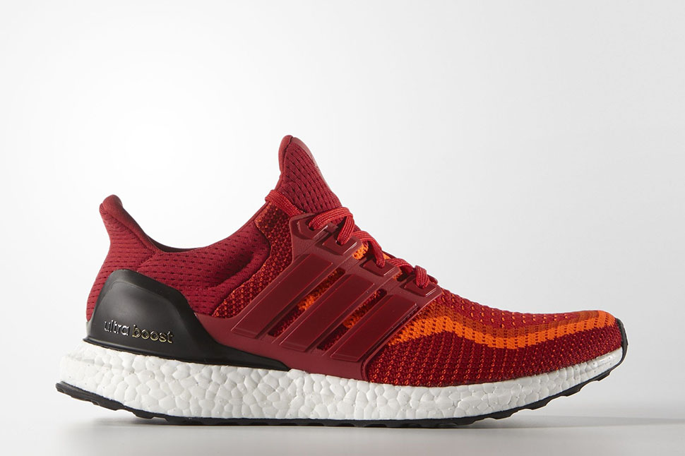 b3551a1dc8f top quality adidas ultra boost all red power 5490f 82ced