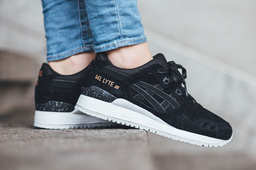 "Asics Gel-Lyte III ""Black/Rose Goldâ€"