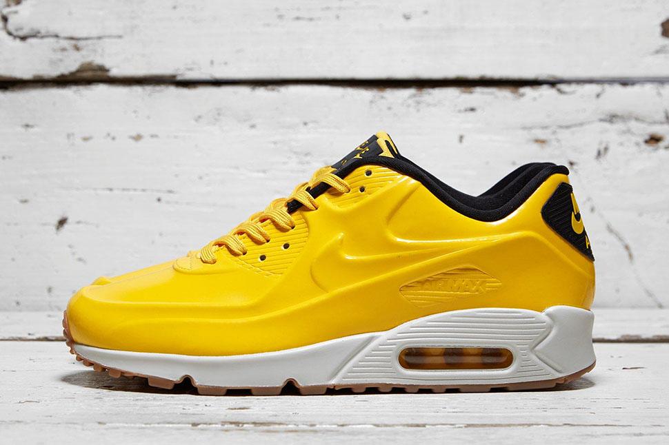 Bright Yellow Defines This Nike Air Max 90 VT •