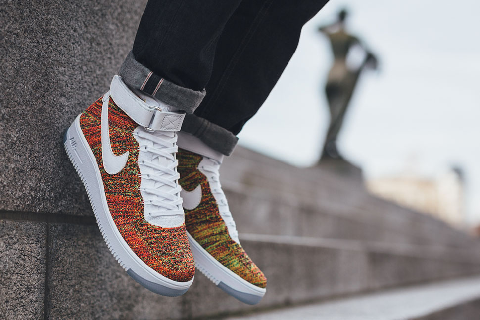 the best attitude 2db5d 56603 greece nike air force 1 flyknit low or rouge a3652 445d5