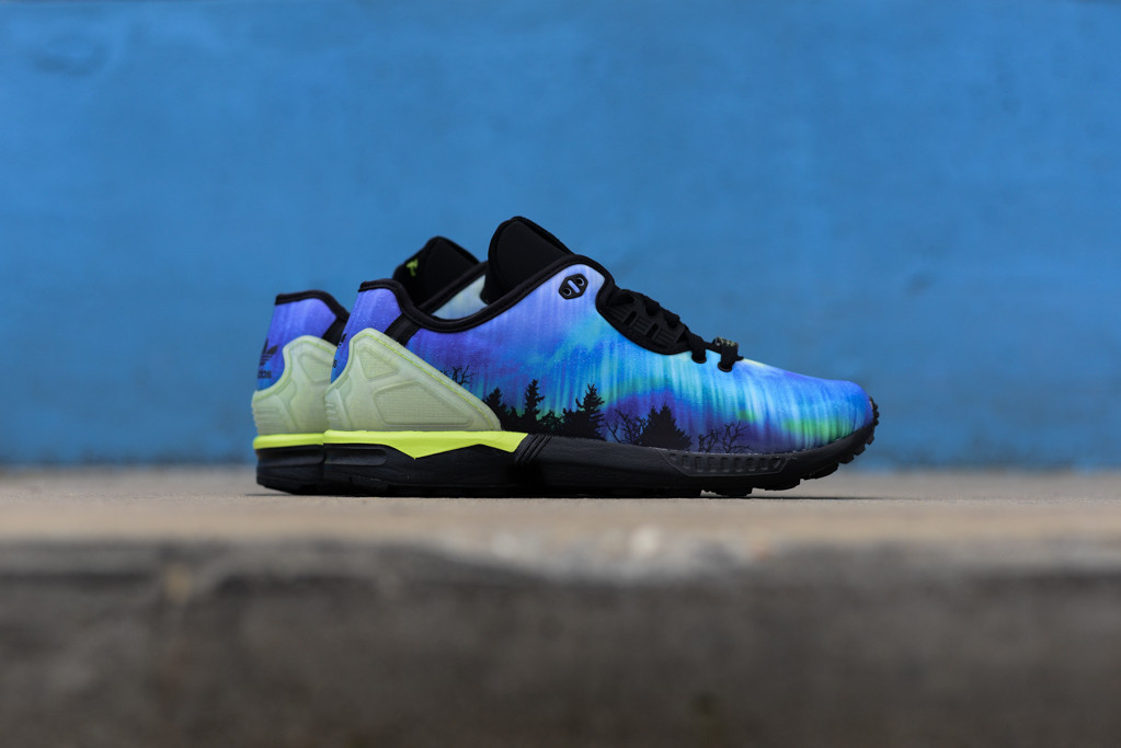 3dee9848dcb59 hot adidas zx flux decon camo blue c806f b4fdd