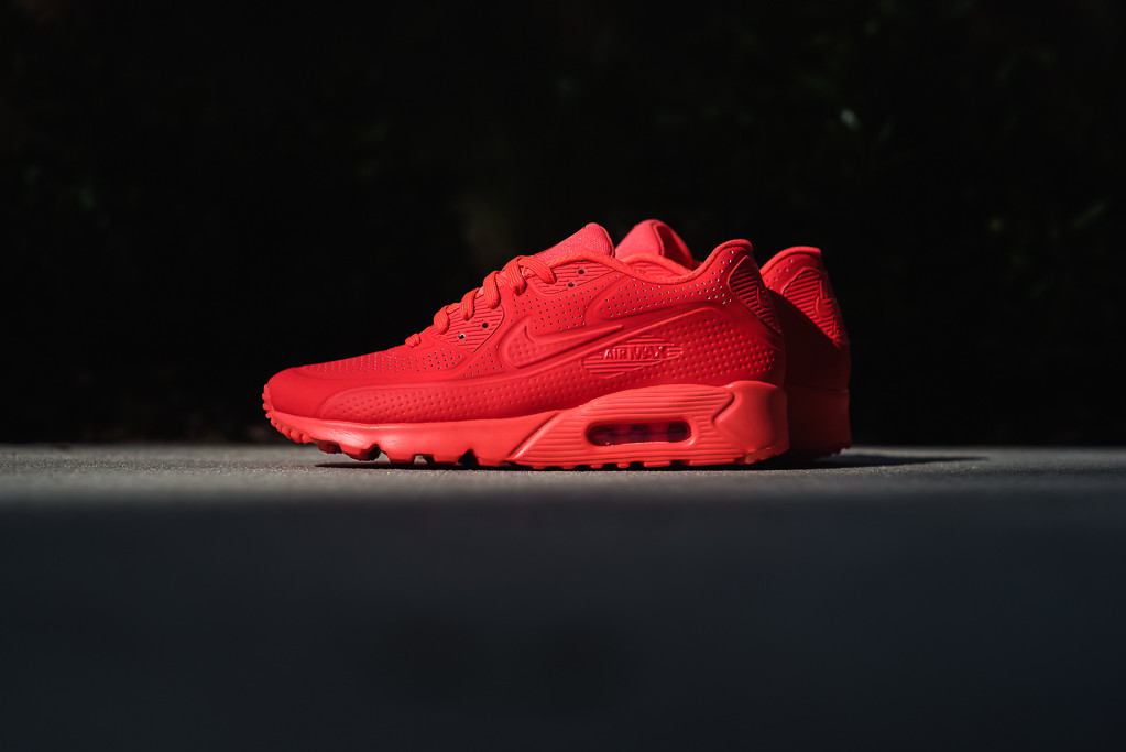 nike air max ultra moire all Rouge
