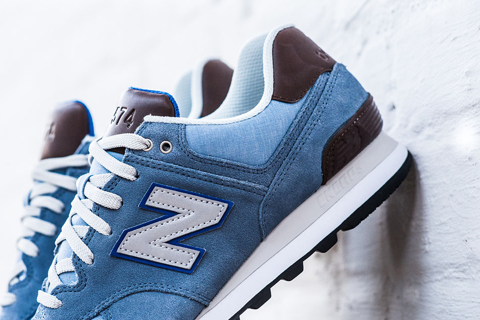huge selection of cc7c1 90ff4 Alta qualit New Balance ML574BCD Blue ...