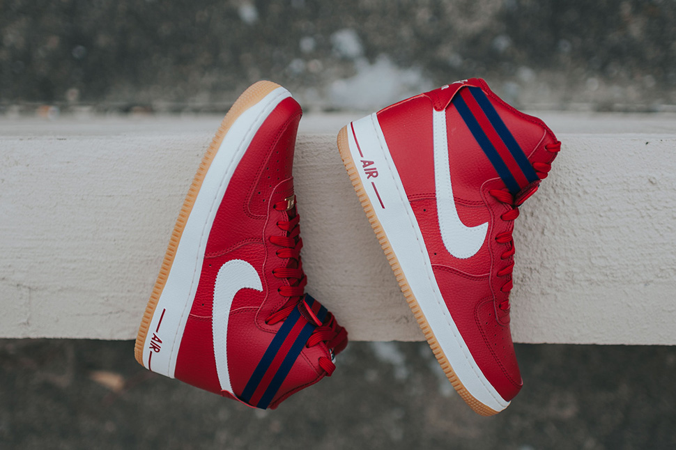 finest selection 3a561 98166 ... authentic nike air force 1 high gym red slate 5c01a 08045