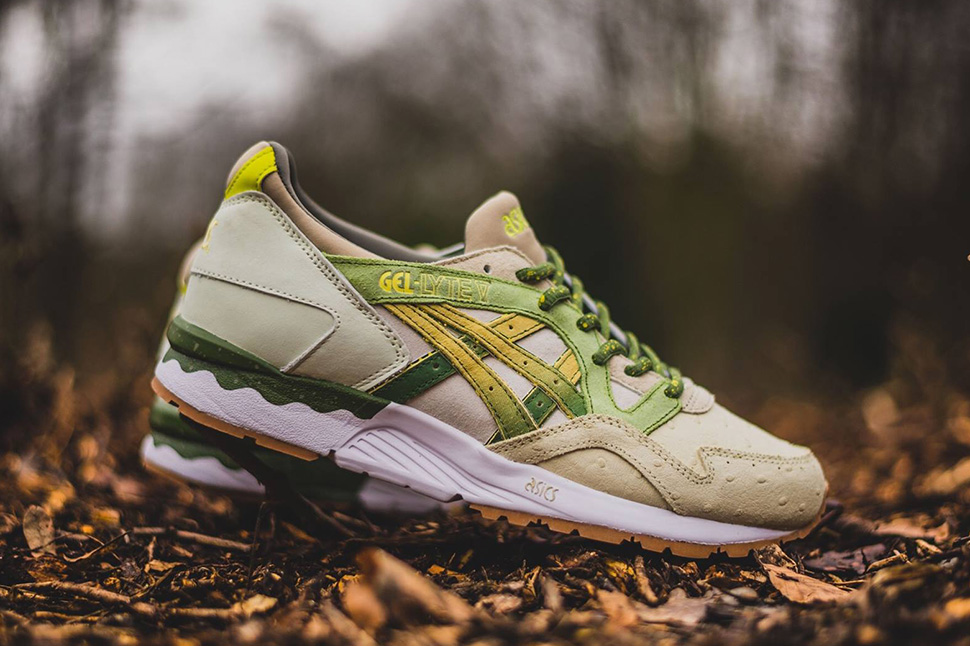 new products 231b6 dd3bb Releasing: Feature x Asics Gel-Lyte V 'Prickly Pear' - OG EUKicks  Sneaker Magazine