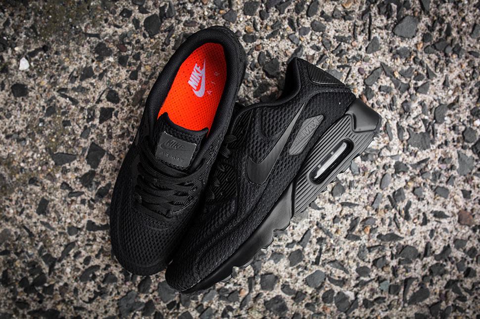 nike air max 90 ultra br all black