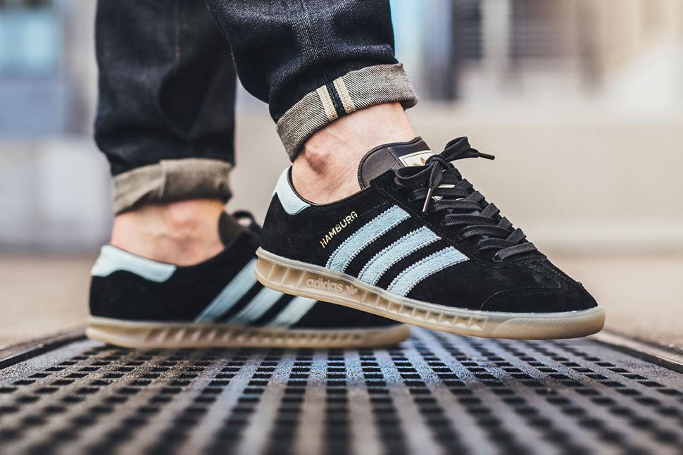 adidas hamburg blue and black Sale | Up to OFF64% Discounts