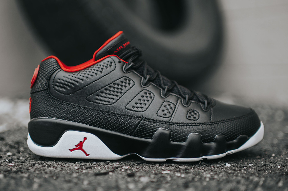 huge selection of 01667 cc172 ... where can i buy air jordan 9 retro low black white gym red detailed  pics 38bd1