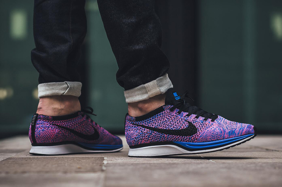 ec02fd0a1ef90 ... best price on foot nike flyknit racer indigo 63ed6 0989c