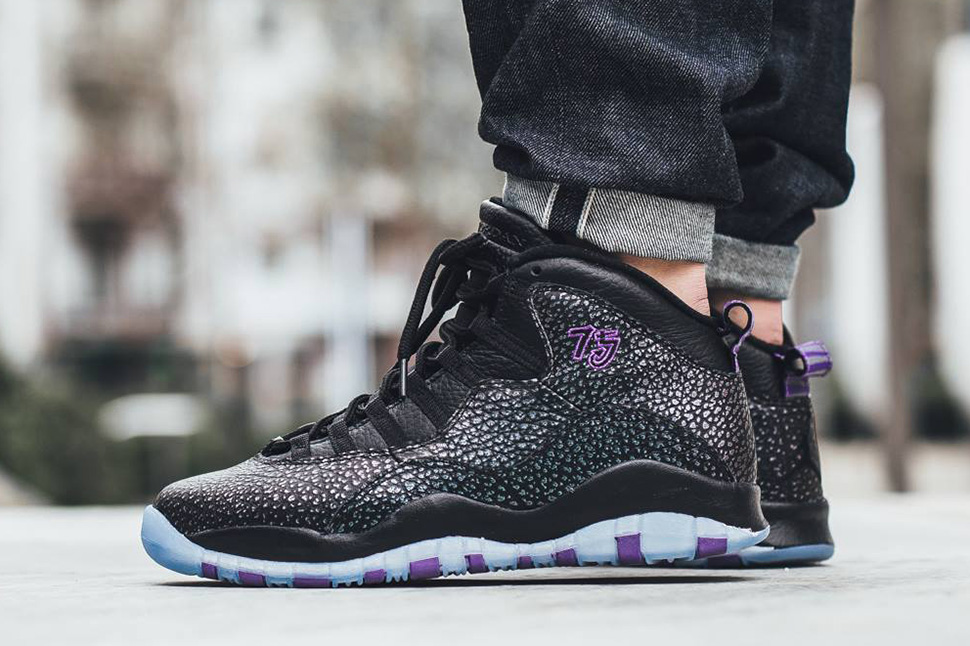 On Foot: Air Jordan 10 Retro