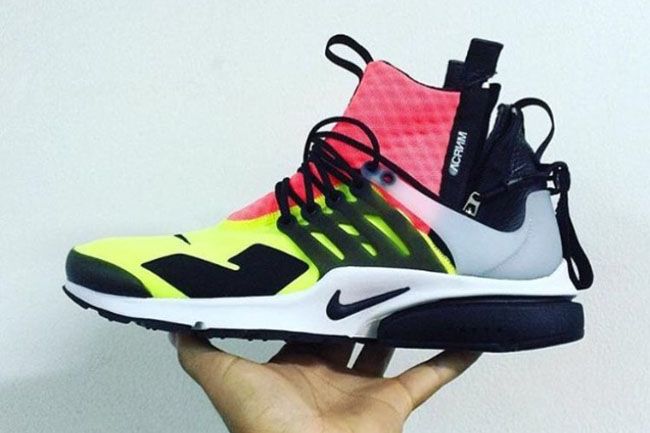 newest 025c5 cf034 Acronym x Nike Air Presto Will Release in at Least Two Colorways