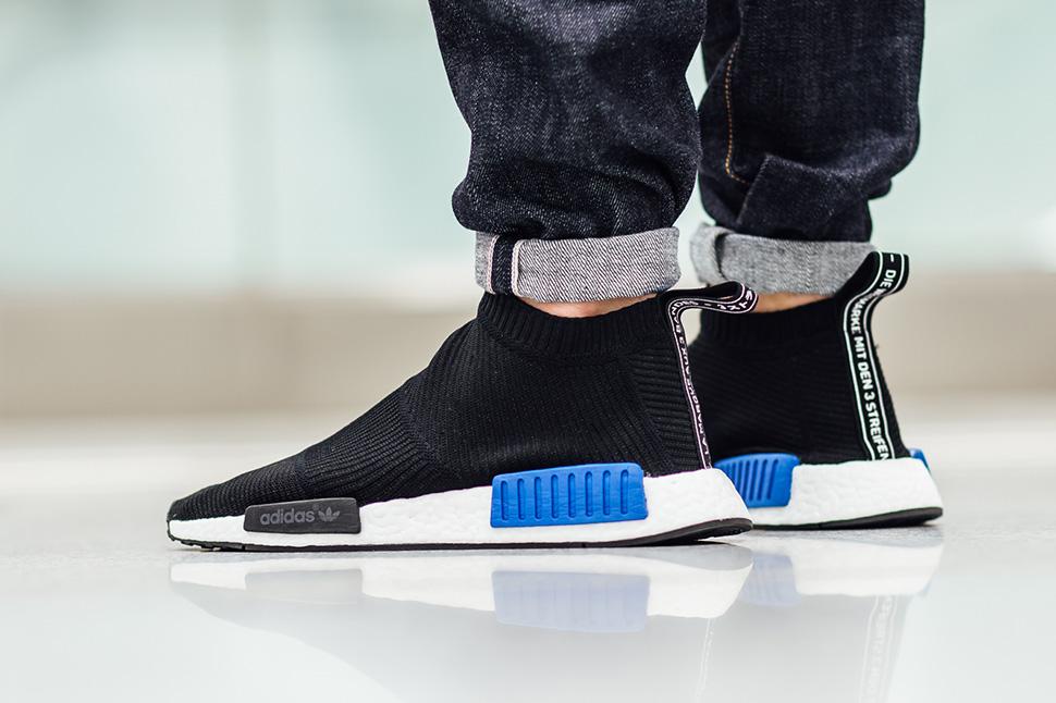 "On-Foot: adidas NMD City Sock Primeknit ""Black"""