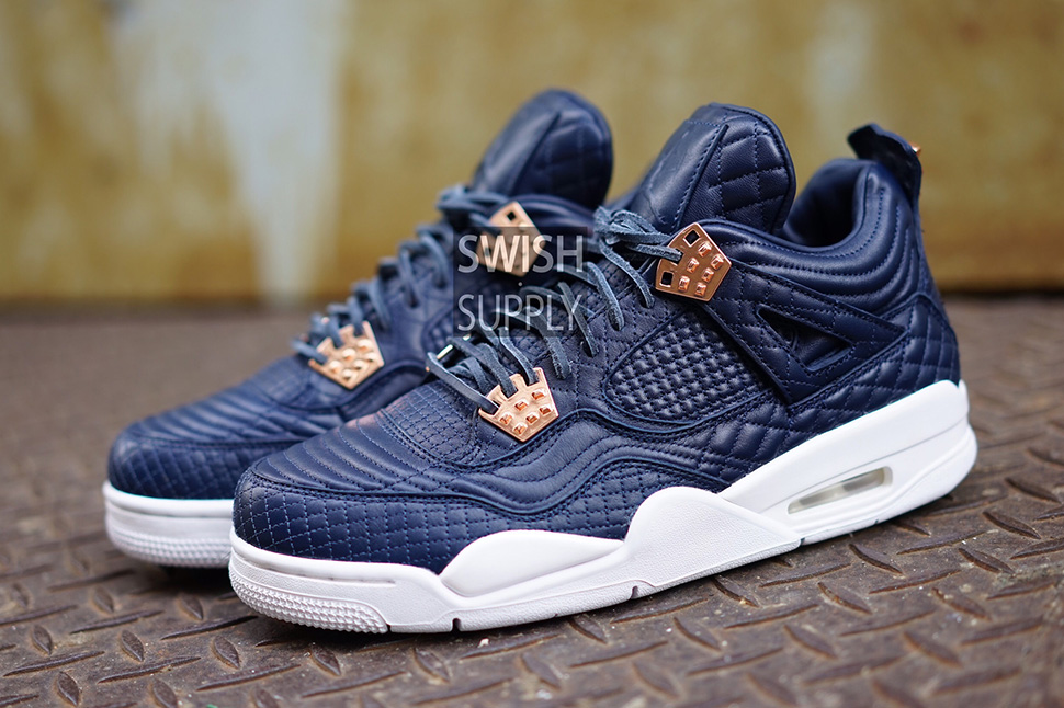 4201e3643dd299 ... The Jordan 4 Is Dressed in Obsidian Lambskin for Its Next Premium  Release . ...