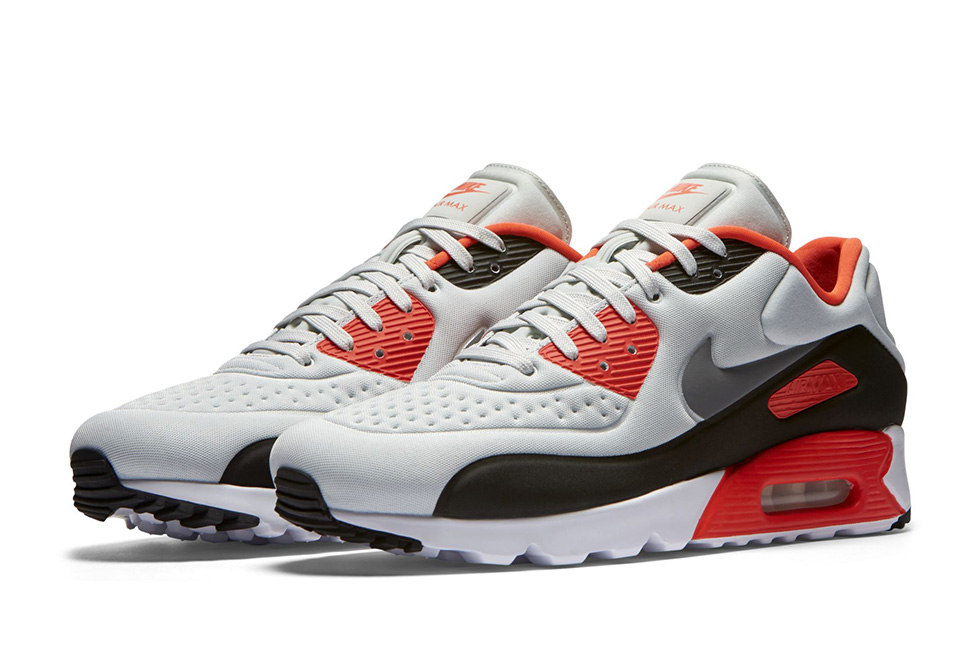 official photos 83794 38428 ... usa nike to release air max 90 ultra in molded textile in infrared  colors a0b77 d8d8f ...