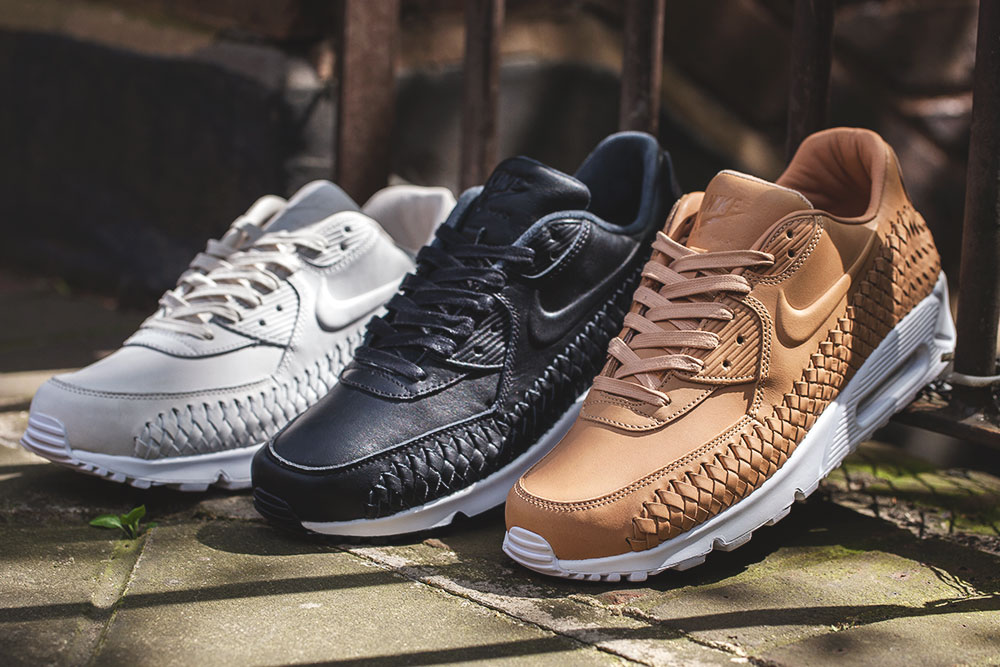 Nike Air Max 90 Woven: Three Colorway Pack