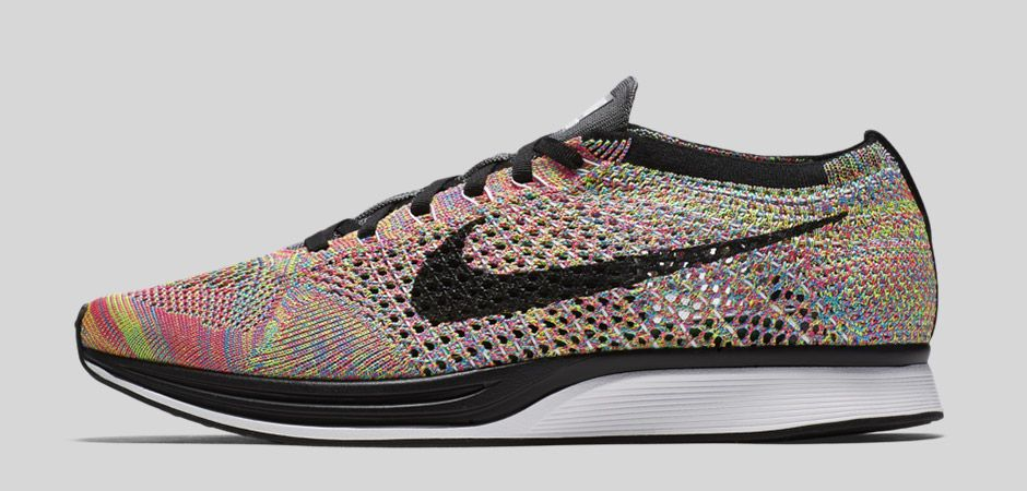 new products 43c37 f0b46 ... The Nike Flyknit Racer is Releasing This Week in Rainbow Colorway ...