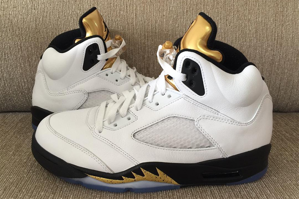 timeless design a16e8 602f9 ... czech 9 preview pictures of the air jordan 5 retro gold tongue olympic  b278a 175b4