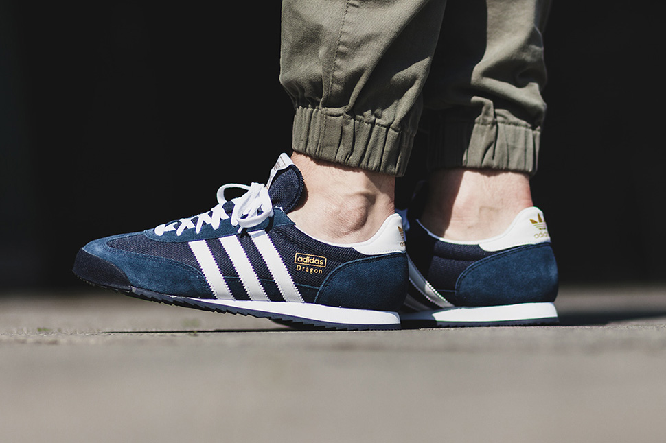 adidas dragon navy white