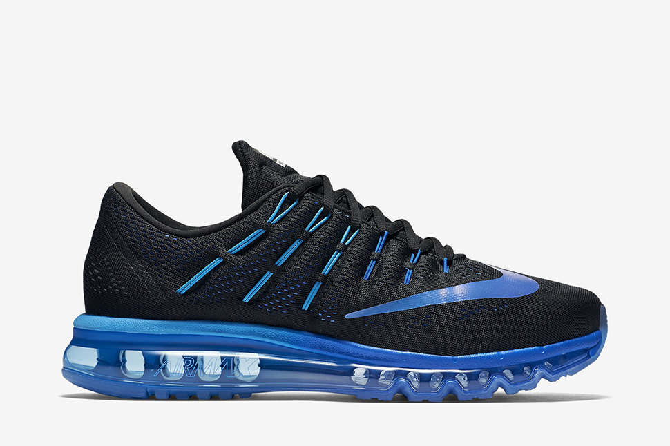 hot sale online 704e9 3407f ... new style nike air max 2016 black deep royal 3e172 1b950