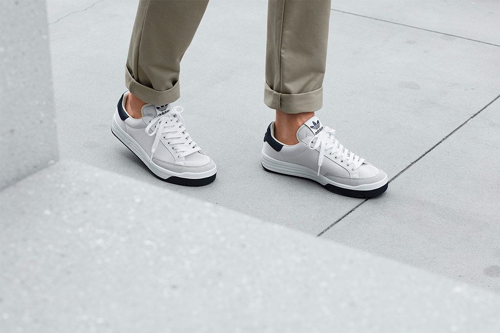 2301e2c73a1545 adidas Rod Laver Super Returning This Week in OG White Navy
