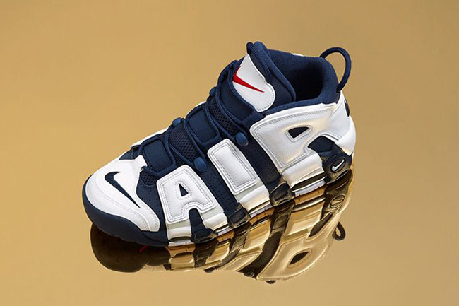 6fed8e903e5 Scottie Pippen s Nike Air More Uptempo from the 1996 Atlanta Olympics  (Launching on Thursday) · Nike LeBron 13 Low Drops in Blackout Colorway