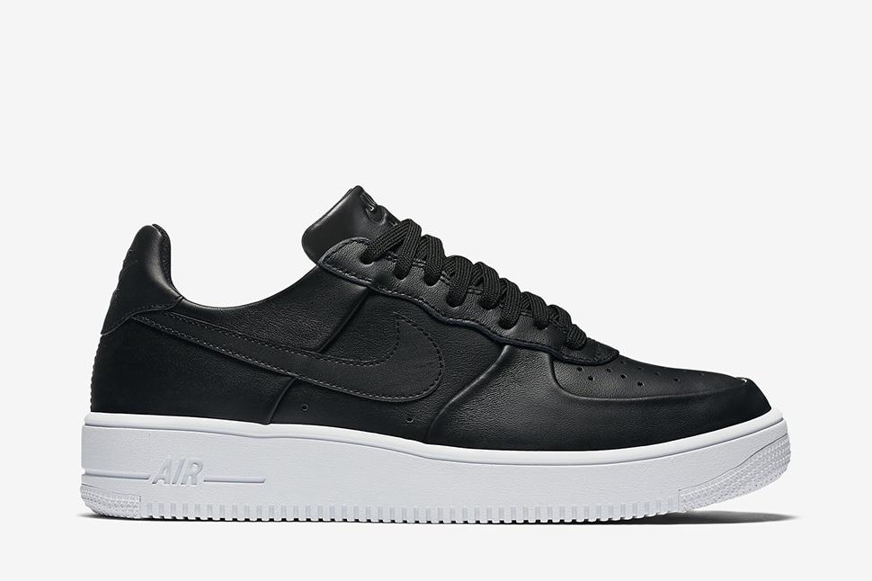 97c42f3f0561 nike air force 1 black leather