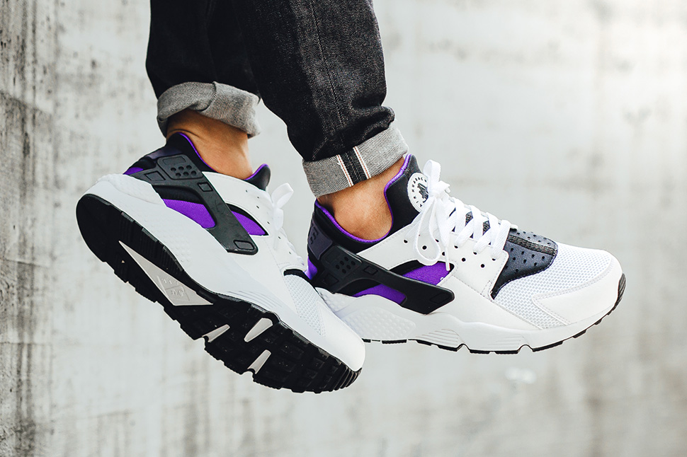 nike huarache purple punch og