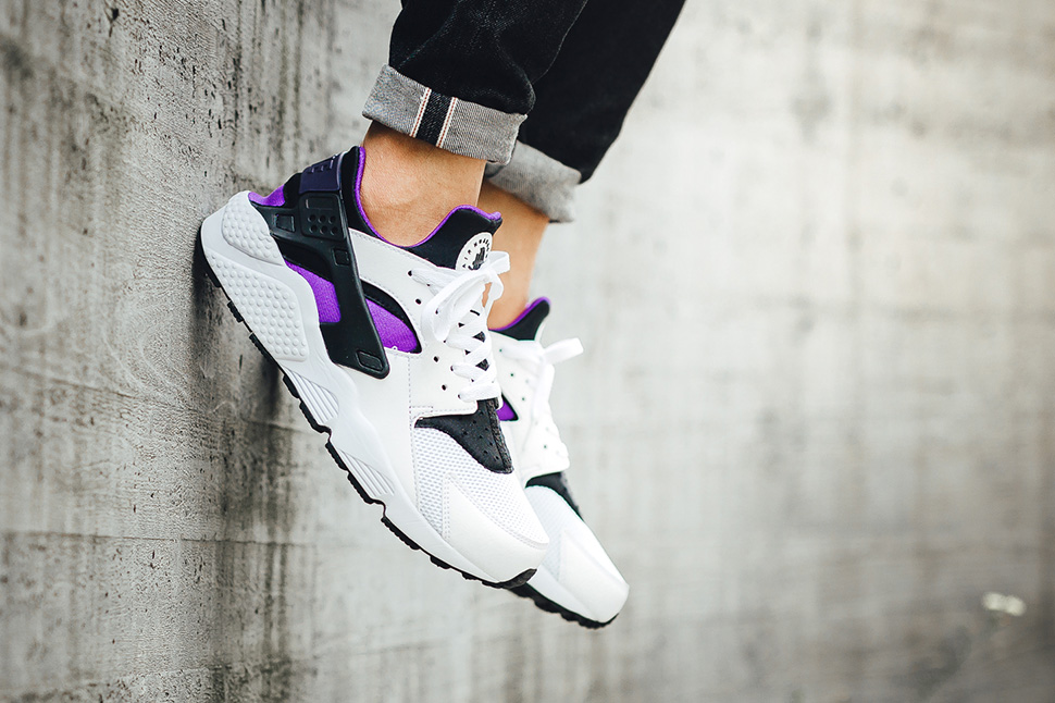 nike huarache purple punch