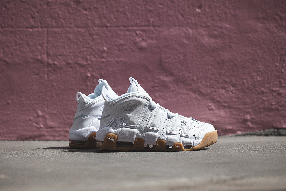 The White & Gum Nike Air More Uptempo is Dropping in Europe