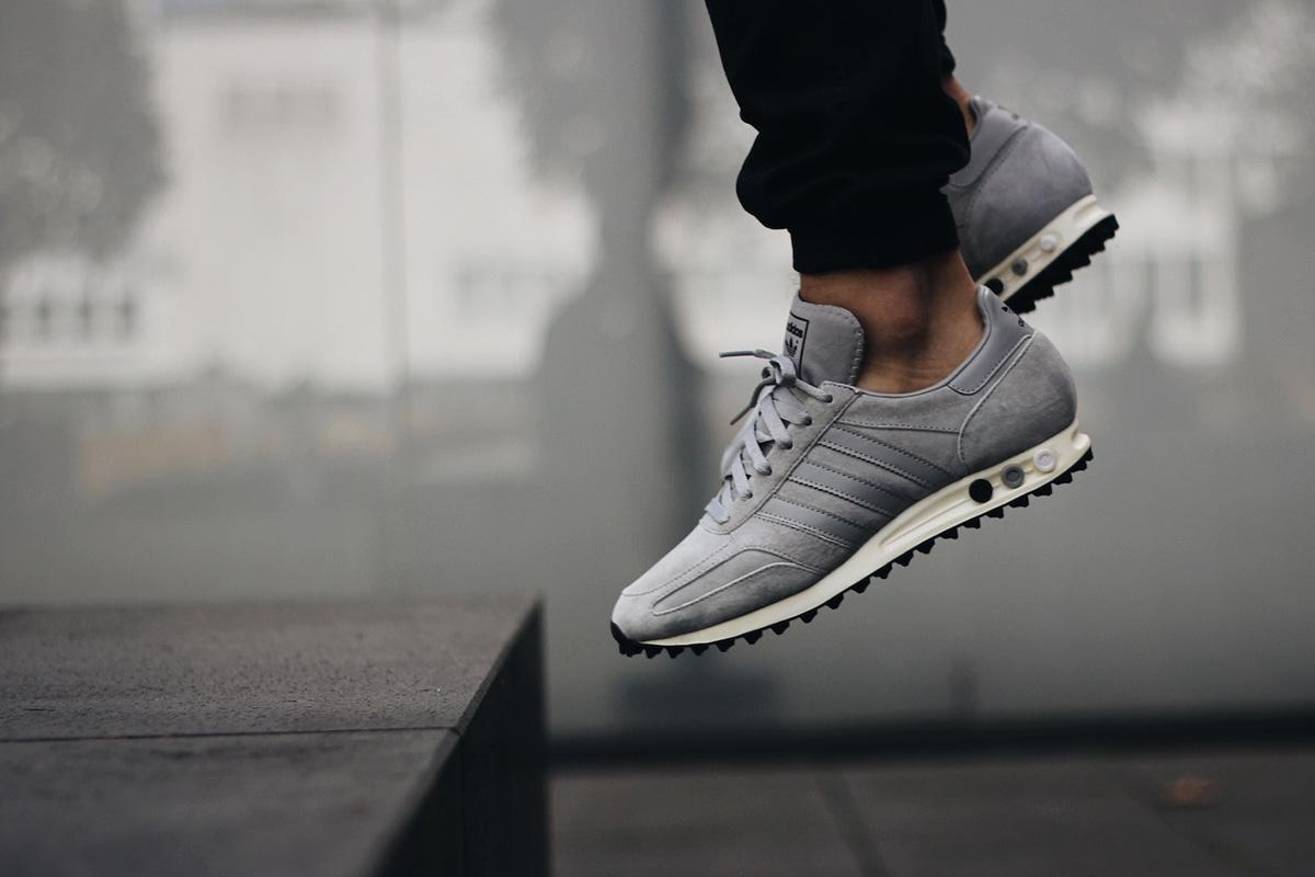 adidas originals la trainer og trainers in grey s79943 nz