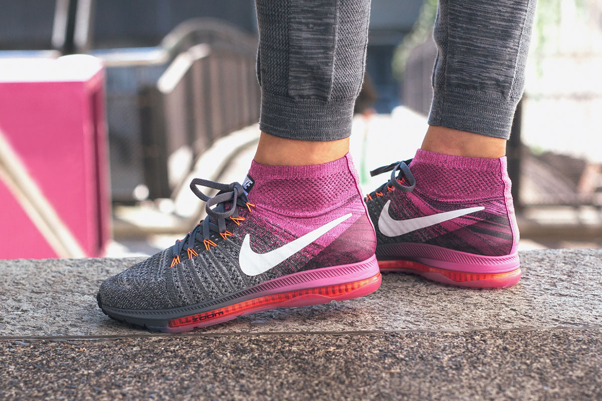 02f1a13395ef0 ... running shoes aj0036 06cc5 f2ab3  50% off on foot nike wmns zoom all out  flyknit . 1b58b 43cf5