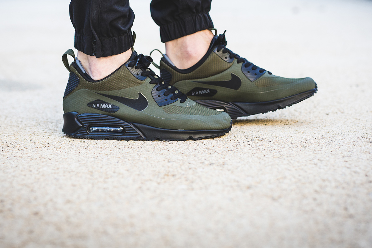 nike air max 90 mid winter green