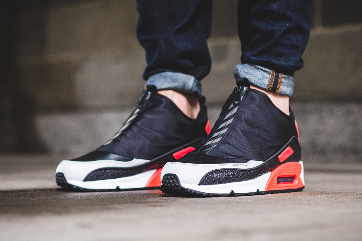 78f33442f51 ... usa nike debuts the air max 90 utility with infrared accents 9a65b d0e68