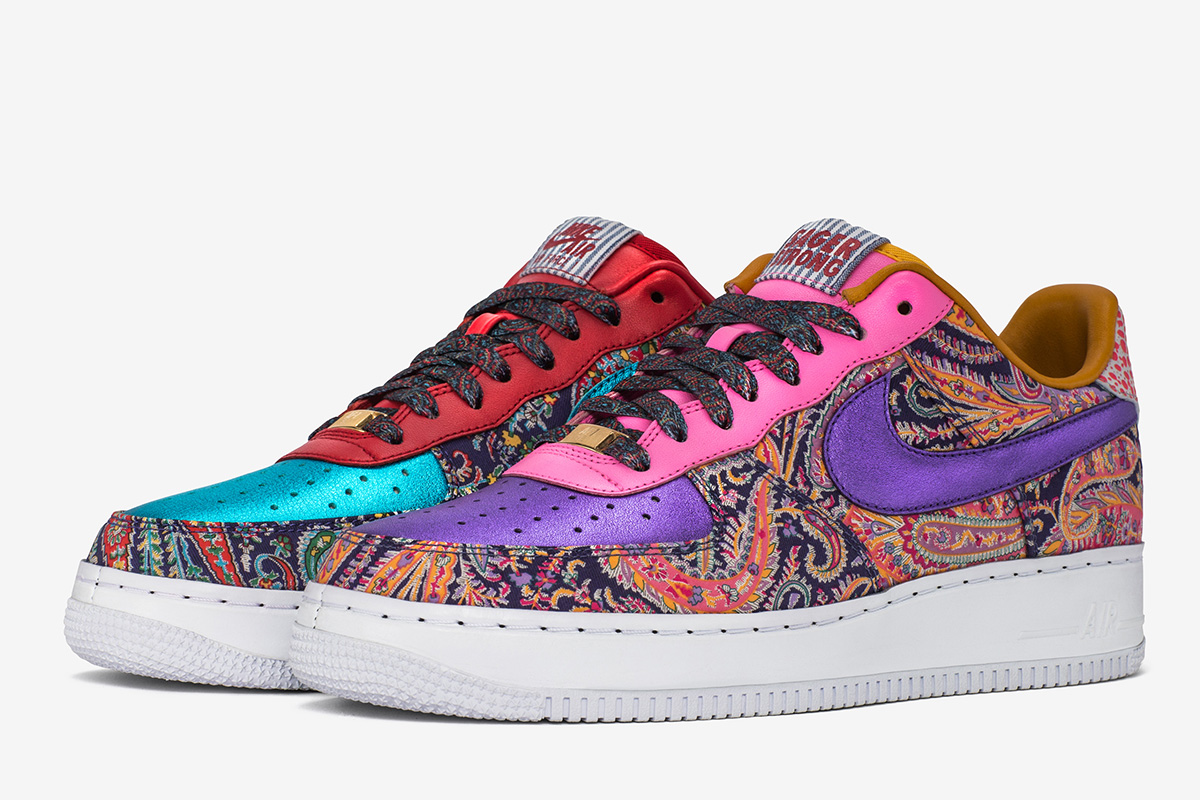 Craig Sager Designs Limited Nike iD Air Force 1 Bespoke