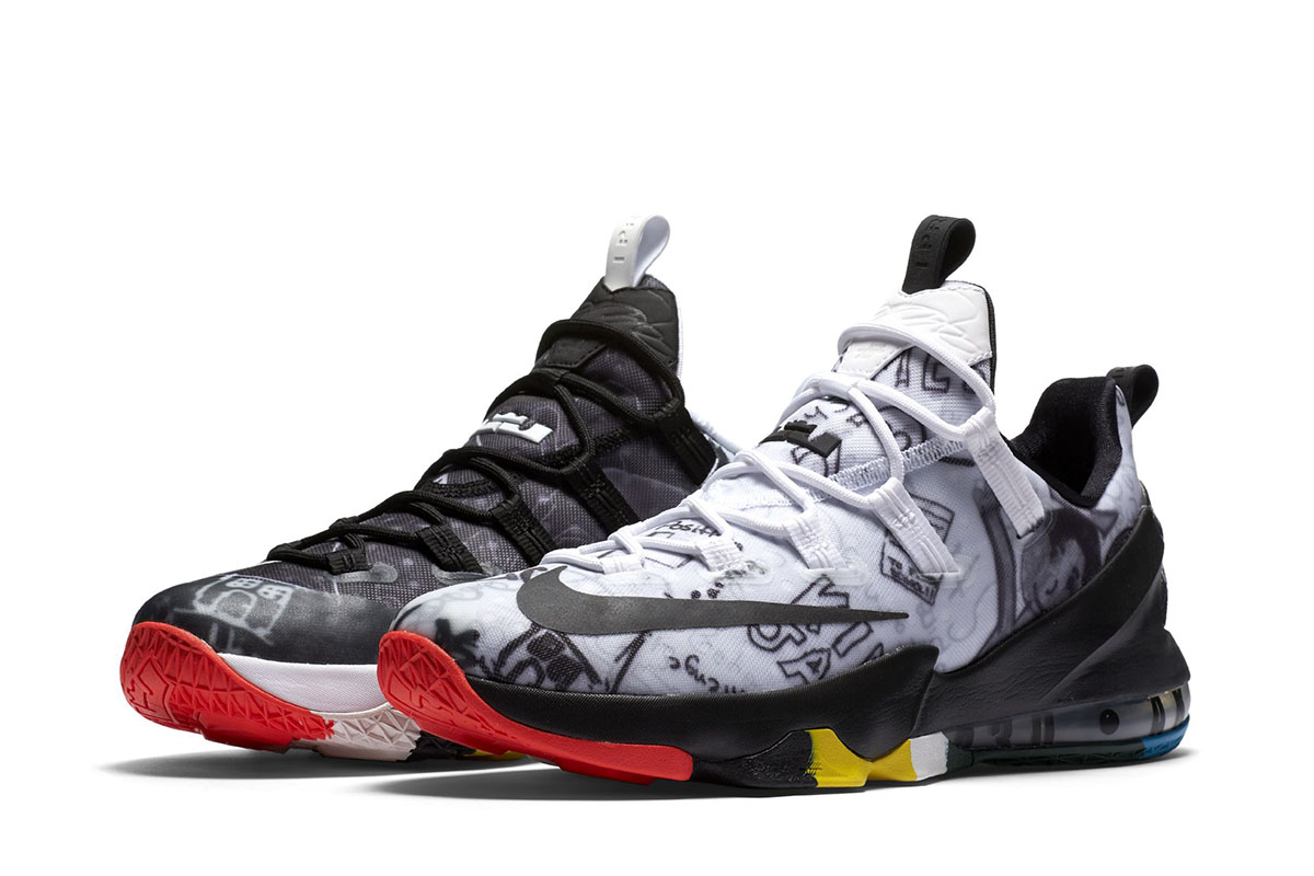 The LeBron James Foundation x Nike LeBron 13 Low