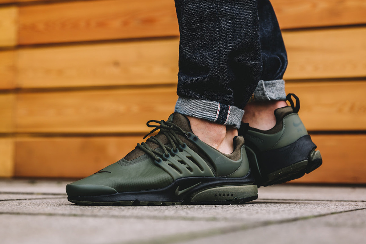Nike AIR PRESTO UTILITY WATERPROOF SNEAKERS bRfgcT