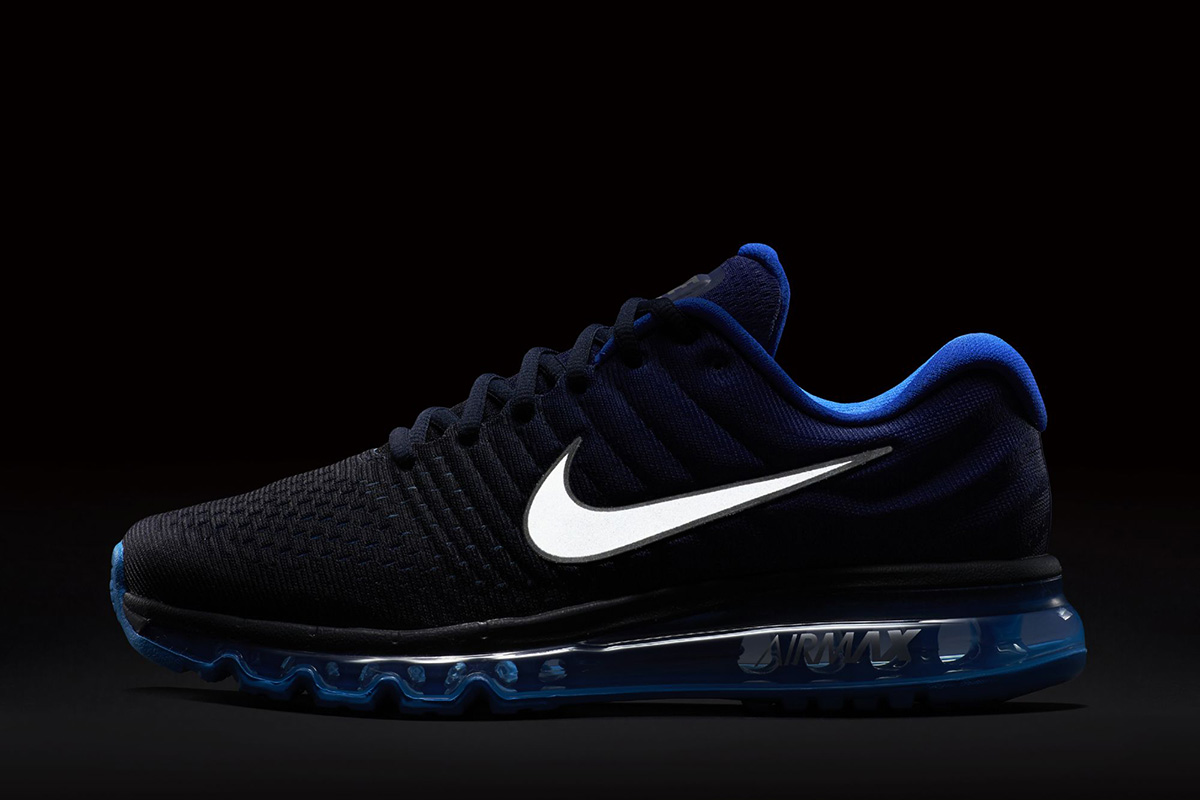 mens nike air max 2017 navy blue