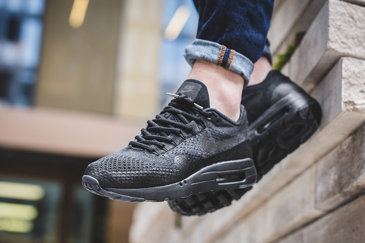 new style 7de04 db723 ... new zealand nike air max 1 ultra flyknit black anthracite 9ef95 10fb3