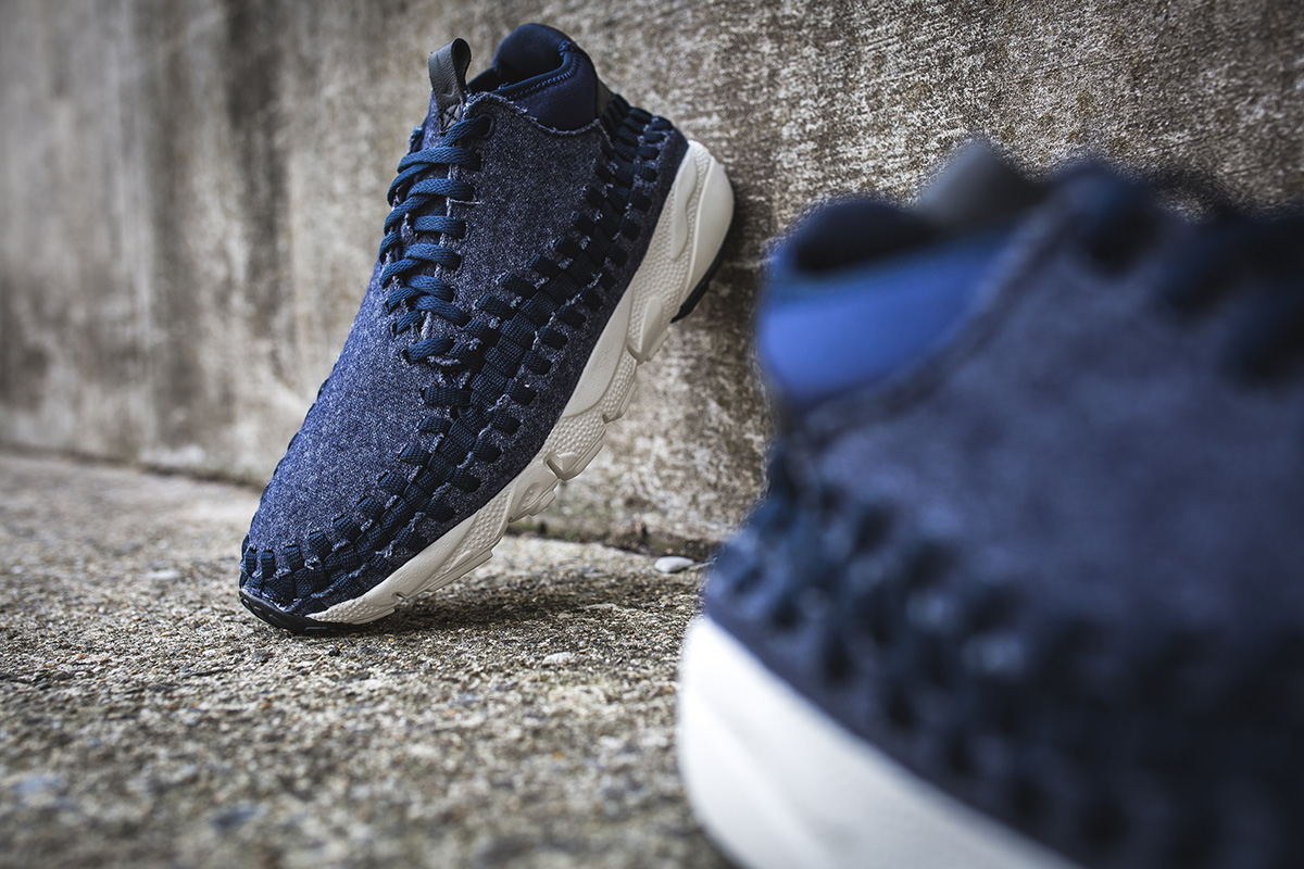 "new arrival c3967 d7b1f ... Nike Air Footscape Woven Chukka SE ""Obsidian Denim†..."