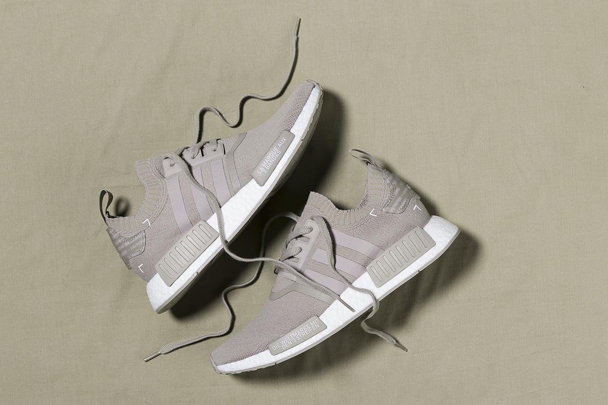 """promo code c268f 7e947 adidas NMD R1 Primeknit """"Vapor Grey"""" (Release Date) · adidas NMD R1  Primeknit Winter Wool Pack"""