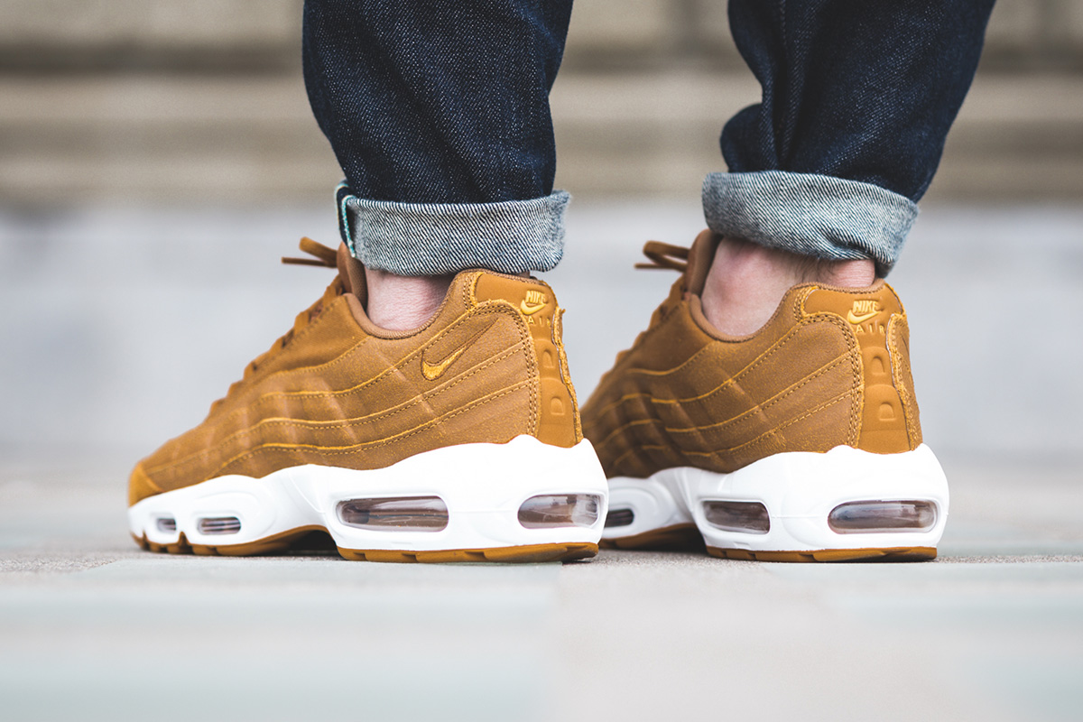 finest selection 2817e b6ed1 ... czech nike sportswear fits the air max 95 in tan colorway 59b69 01127