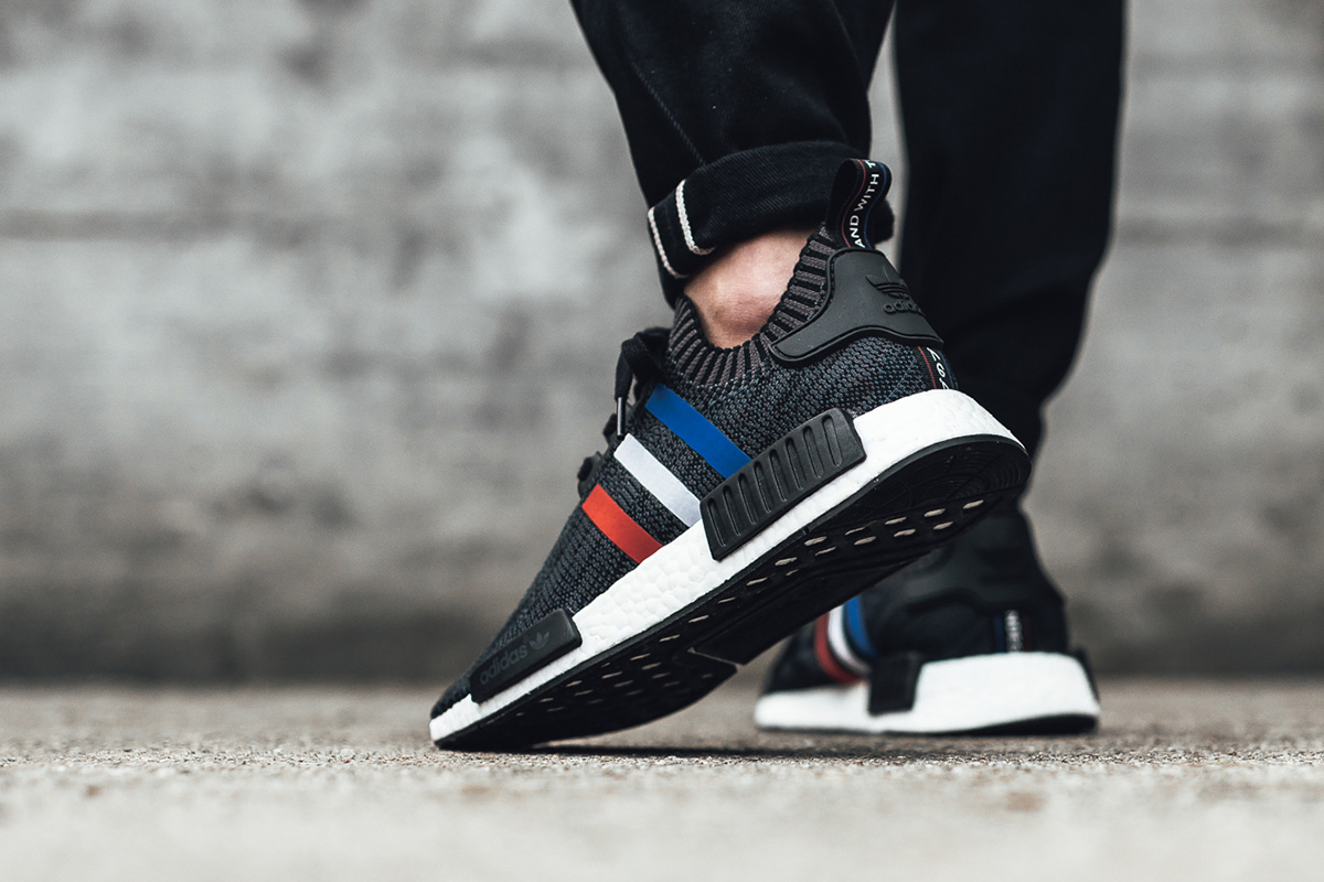 new product f90b9 e8079 On-Foot  adidas Originals NMD R1 PK Tri-Color Pack